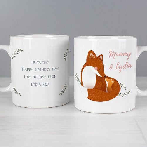 Mummy and Me Fox Mug
